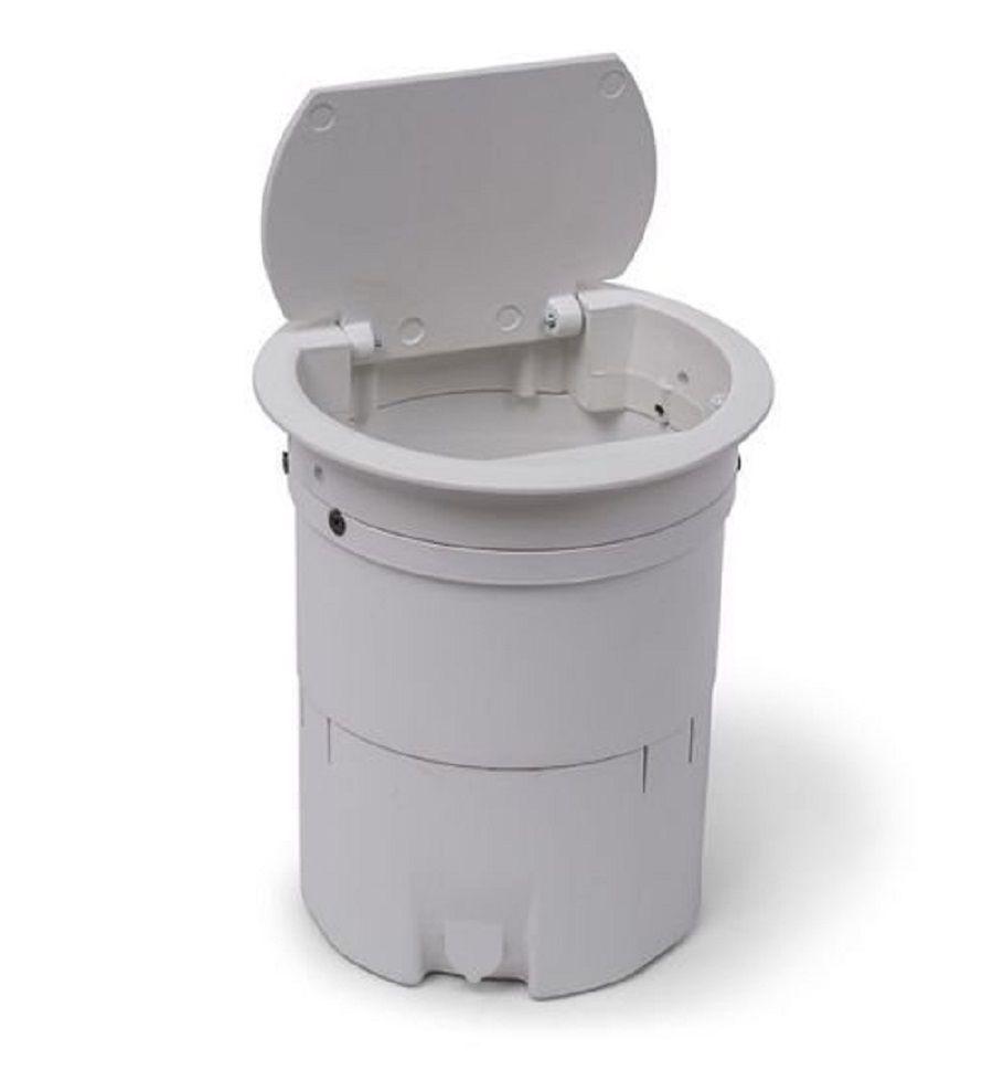 Caixa De Tomada Multy Compacta Em Alumínio Com 2 Tomadas