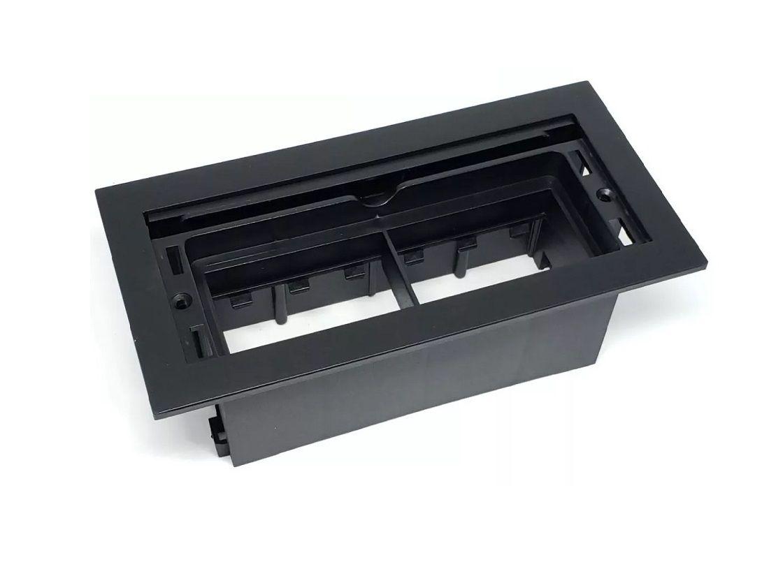 Caixa De Tomada Para Embutir, 3 Tomadas, 3 RJ45 QMF6-M7