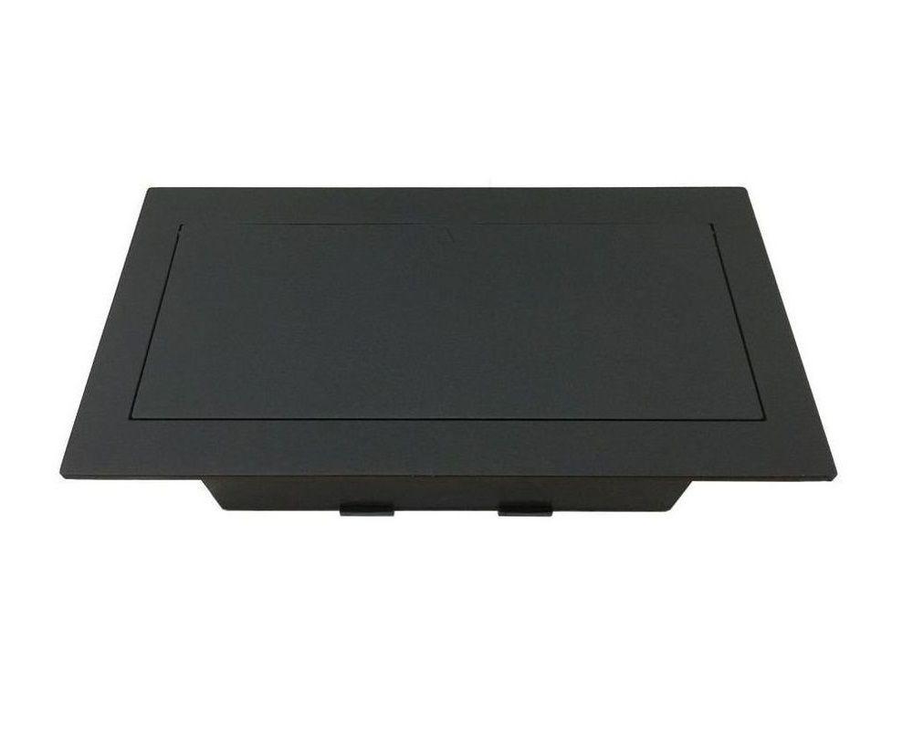 Caixa De Tomada Para Embutir Em Mesas Completa - QMF6-M3