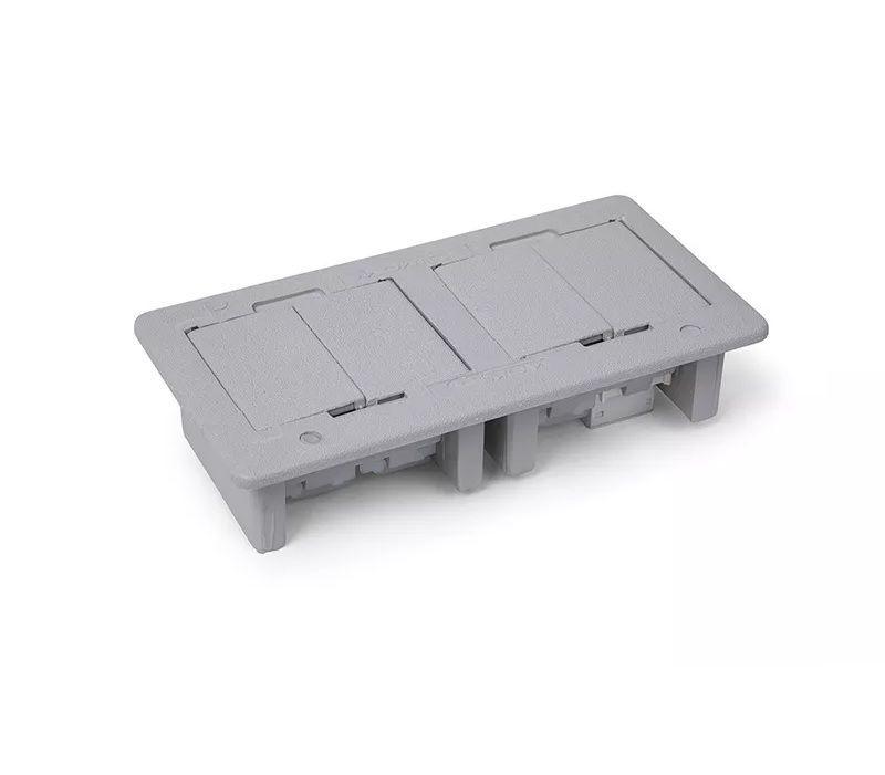 Caixa De Tomada 3 Eletricas + USB Carregador 2.1A