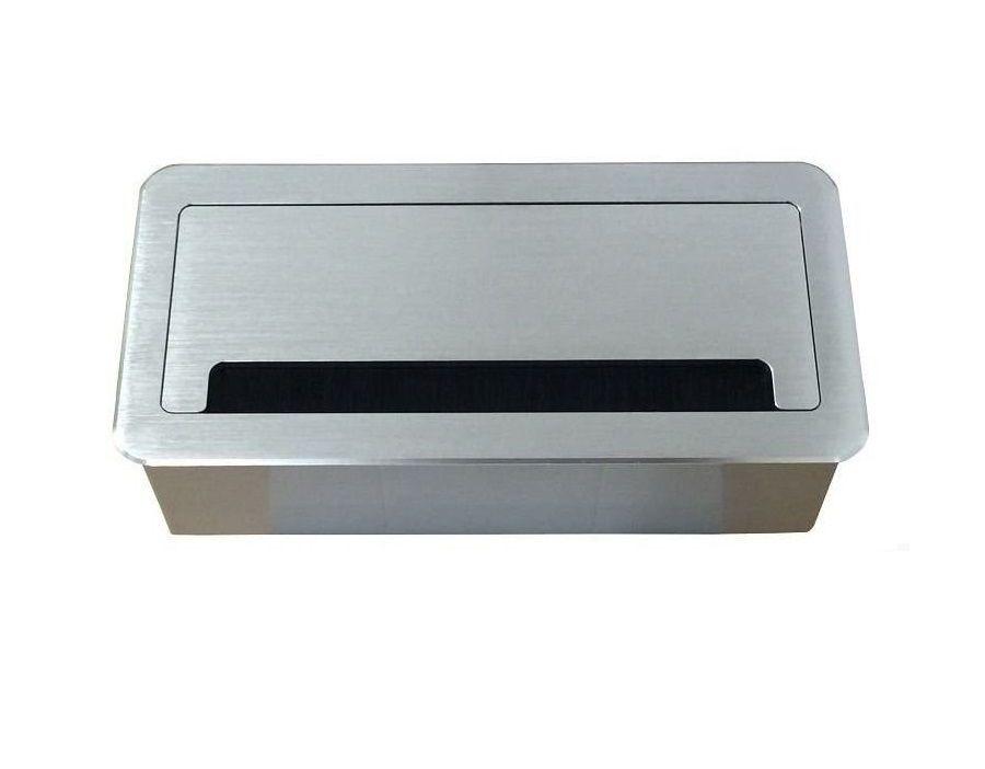 Caixa Tomada Em Alumínio Para Embutir Linha QM6-M2