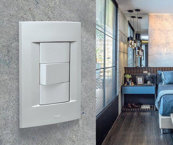 Espelho 4x2 Para Rede, Antena e Telefone Linha Sublime