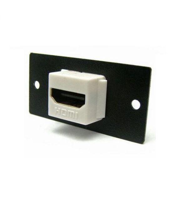Keystone HDMI Com Espelho Metálico Aço 1008
