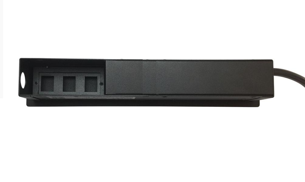 Régua De Tomada Para Embutir Em Mesas - SLIM-304B
