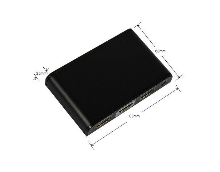 Splitter Hdmi 4K 2.0 Tamanho Slim - LKV312