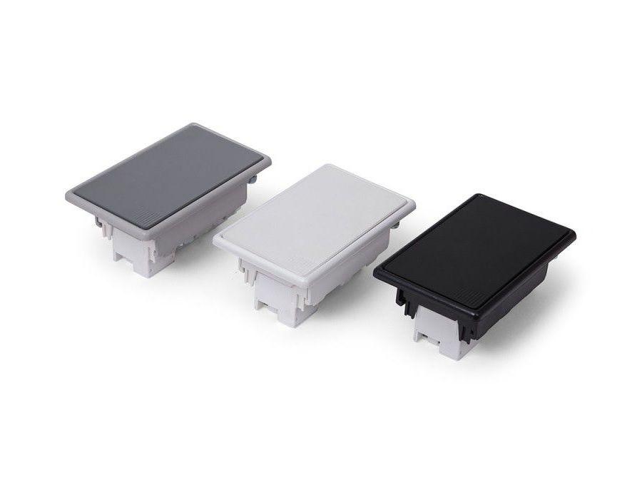 Tomada de Embutir Em mesas Compacta - QMF3-M3
