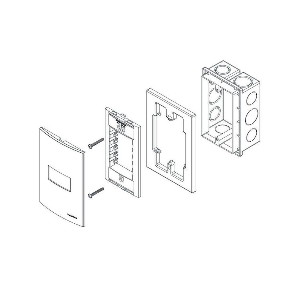 Tomada De Parede 4x2 Com Carregador USB 2A Sleek