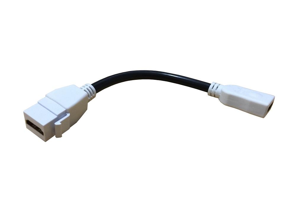 Tomada HDMI De Parede 4x2 Linha Sublime - SH19