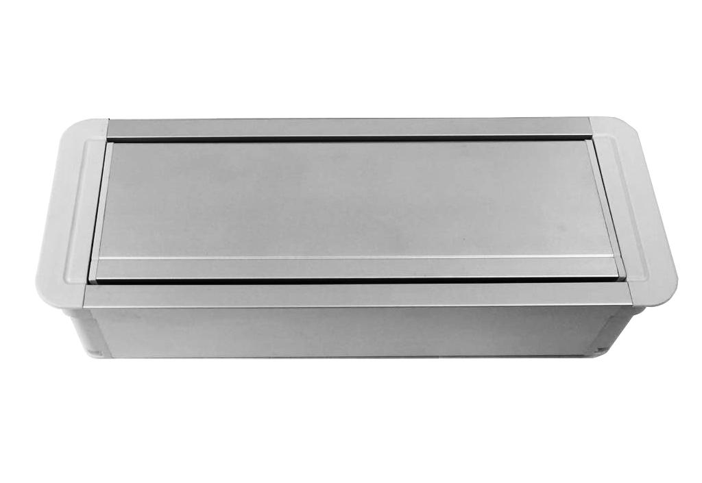 Tomada Para Embutir Em Aluminio Completa AW2T-M4
