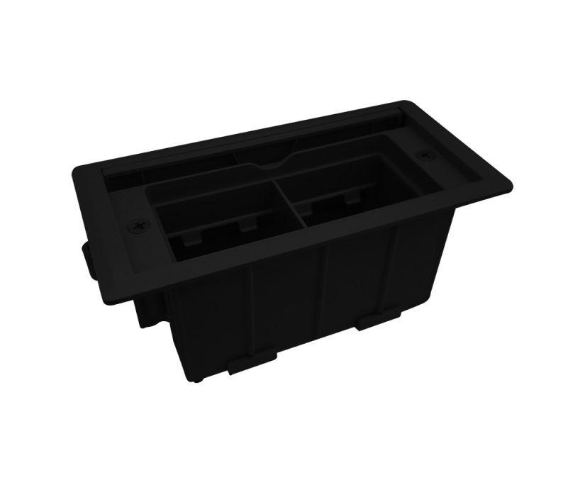 Tomada Para Mesa Mini Compacta QMF5