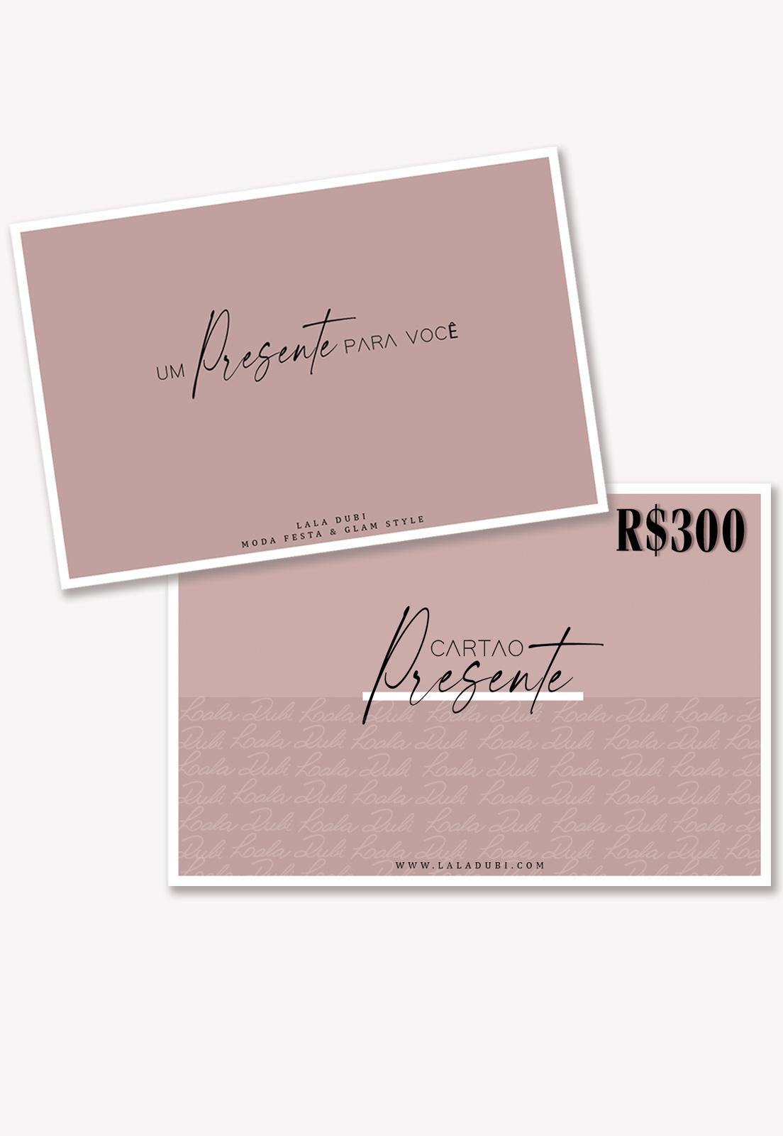 Cartão Presente Lala Dubi