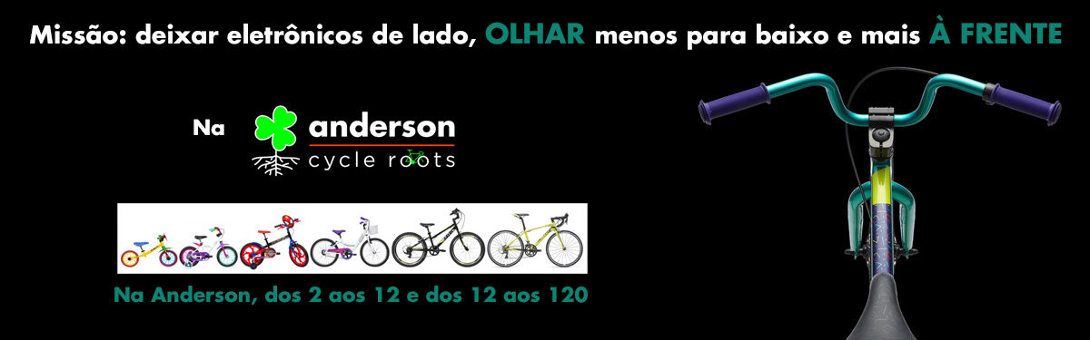 Na Anderson bikes para todas as idades
