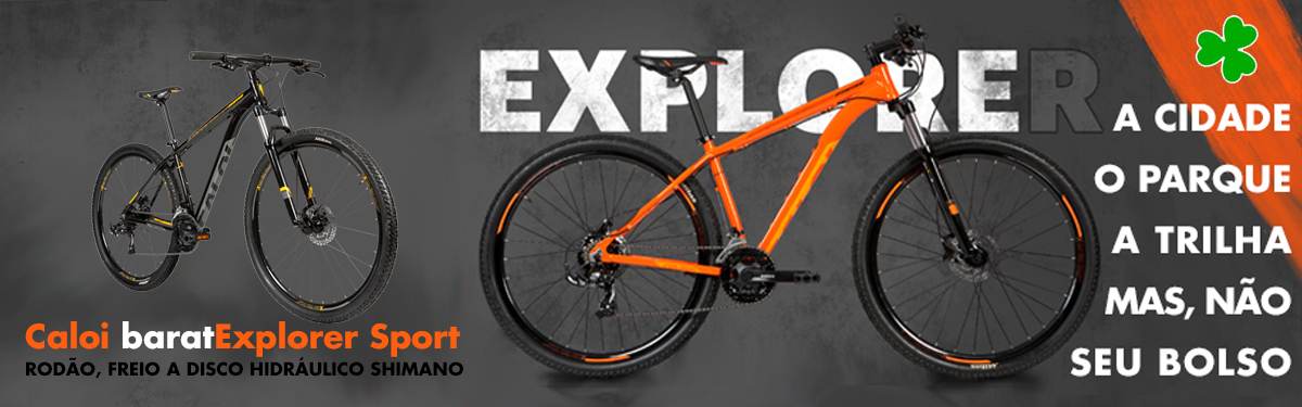 Caloi baratExplorer Sport na Anderson Cycle Roots