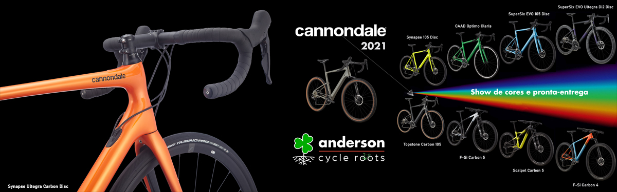 Cannondale Topstone Carbon 105 na Anderson Cycle Roots