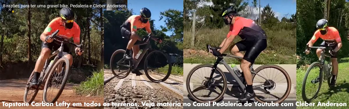 Matéria no Pedaleria com Edu Capivara e Cleber Anderson sobre grave bikes