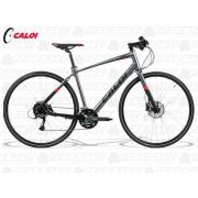 BICICLETA CALOI CITY TOUR COMP CINZA G 2018