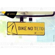 CRACHA DE RETOVISOR BIKE NO TETO