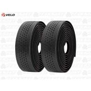 FITA DE GUIDÃO VELO VLT-3079 ANTI CHOQUE COM GEL PRETO