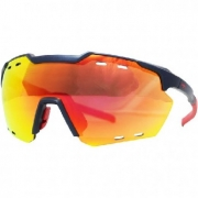 OCULOS HB SHIELD COMPAC R MATTE NAVY MULTI RED