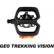 PEDAL LOOK GEO TREKKING VISION COM LUZ INTEGRADA