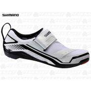 SAPATILHA TRI 38 BR SHIMANO SH-TR32 BRANCO PRETO