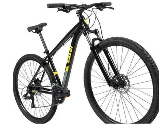 BICICLETA CALOI EXPLORER SPORT M PRETO 2021