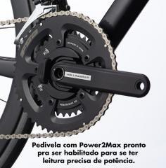 BICICLETA CANNONDALE SUPERSIX EVO CARBON DISC ULTEGRA DI2 54 PRETO 2020