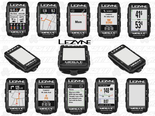 CICLO COMPUTADOR LEZYNE MEGA C GPS