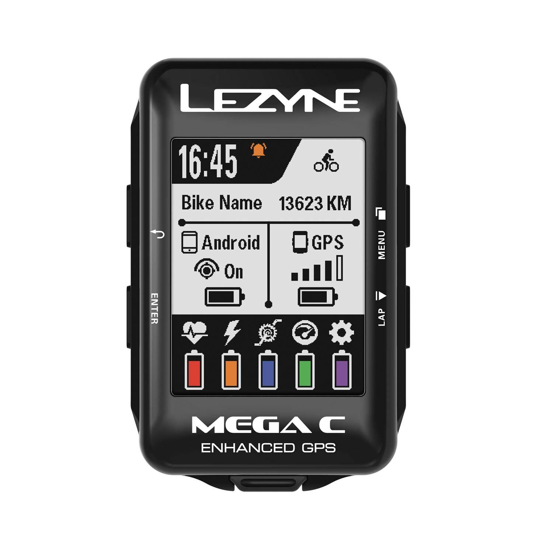 CICLO COMPUTADOR LEZYNE MEGA C GPS V104