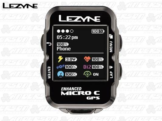 CICLO COMPUTADOR LEZYNE MICRO COLOR GPS