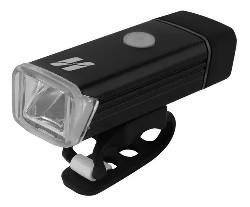 FAROL HIGHONE DIANTEIRO USB  SILICONE C/VISOR ACRILICO PRETO