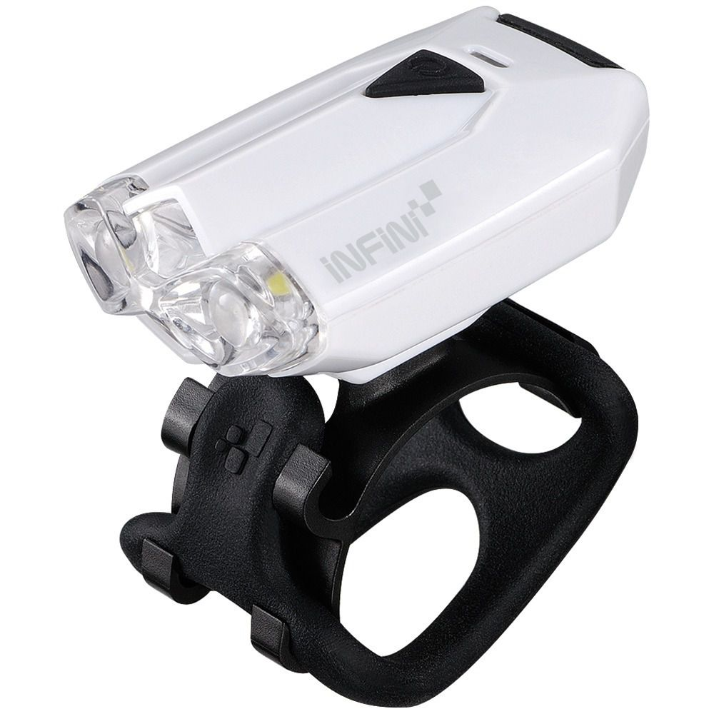 FAROL I260W LAVA 2 LEDS COM BATERIA WHITE INFINI
