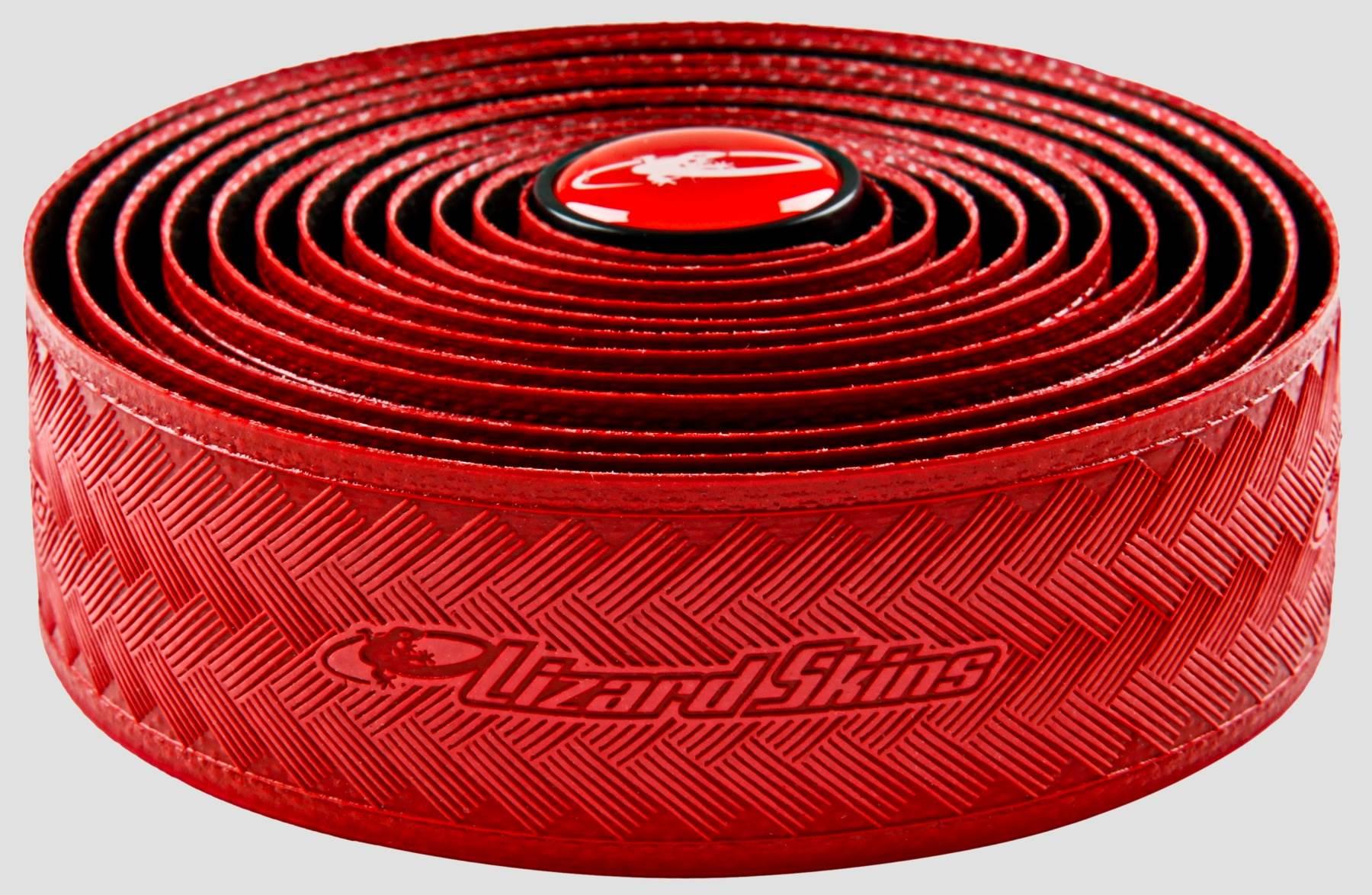 FITA DE GUIDÃO LIZARD SKINS DSPDST50 - RED 3.2MM