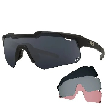 OCULOS HB SHIELD EVO R KIT ROAD 01 GRA, SILV , AMB