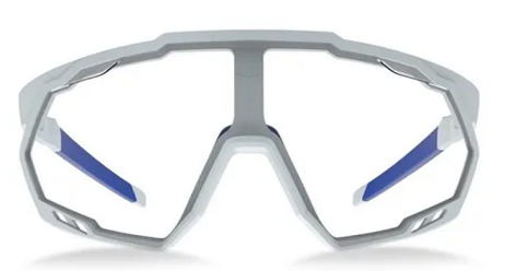 OCULOS HB SPIN PEARLED WHITE BLUE CHROME CRISTAL