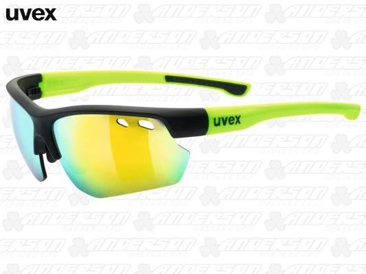 OCULOS UVEX SGL 115 - PRETO - AMARELO