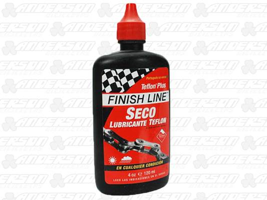 ÓLEO FINISH LINE TEFLON PLUS SECO 120ML