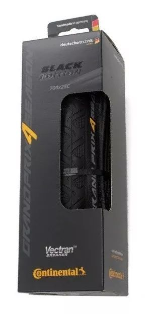 PNEU CONTINENTAL GRAND PRIX 4 SEASON -700 X 25C BLACK EDITION- PRETO  - DOBRAVEL