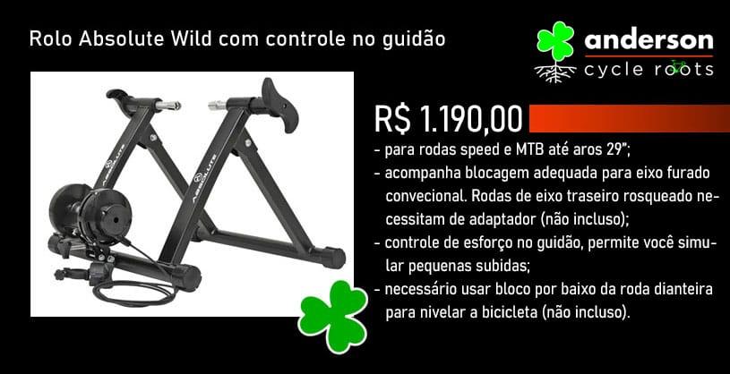 ROLO DE TREINO ABSOLUTE WILD 5