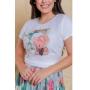 T-shirt feminina Cawane Victória Princess