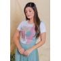 T-shirt feminina Samela Victória Princess