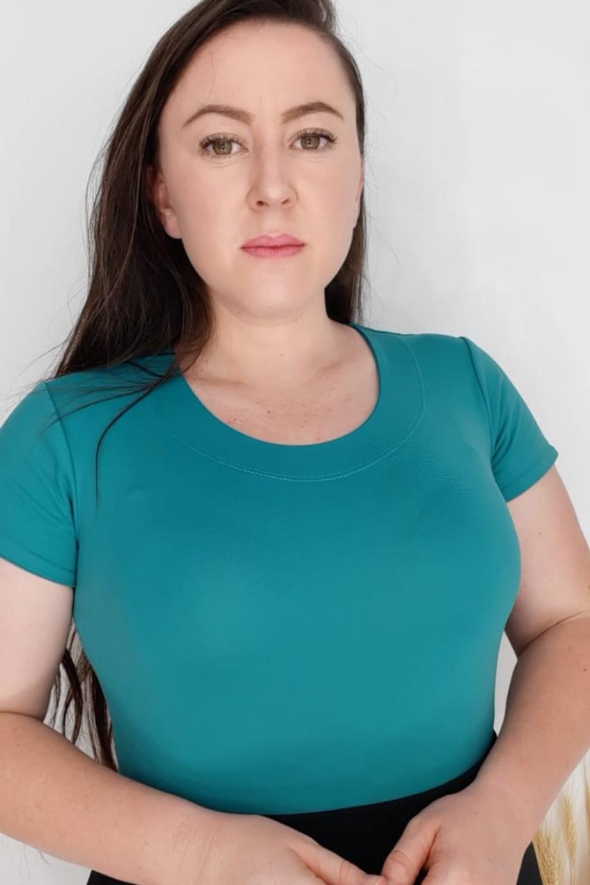 Body feminino básico Maria Amore