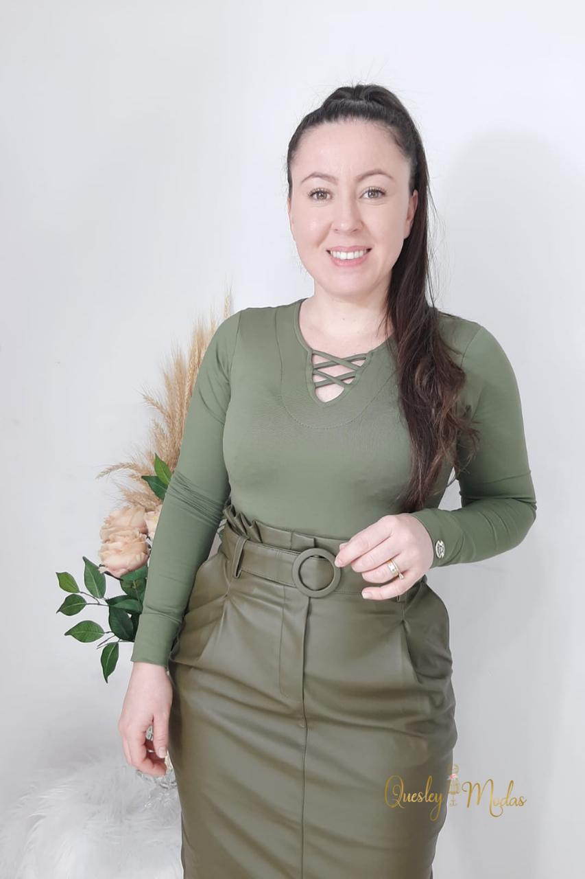 Body feminino Sabrina Maria Amore
