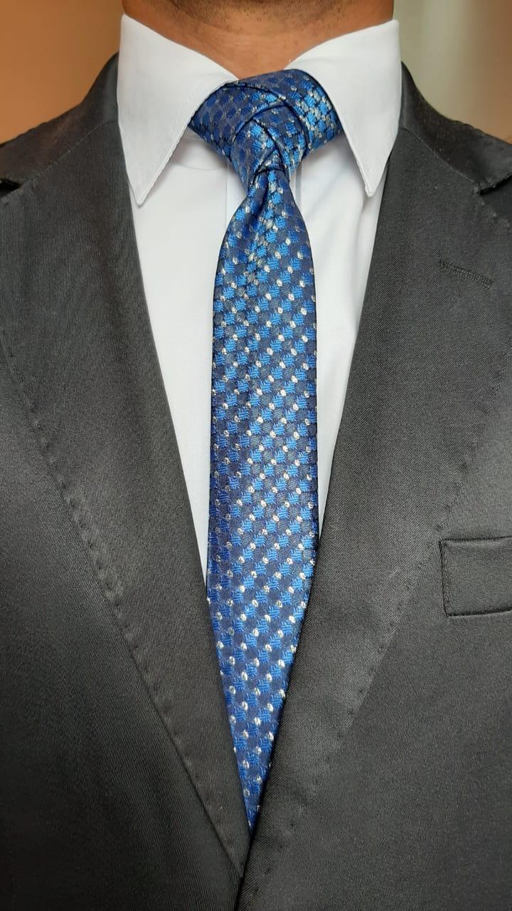 Gravatas masculinas poá F&Q Moda Masculina