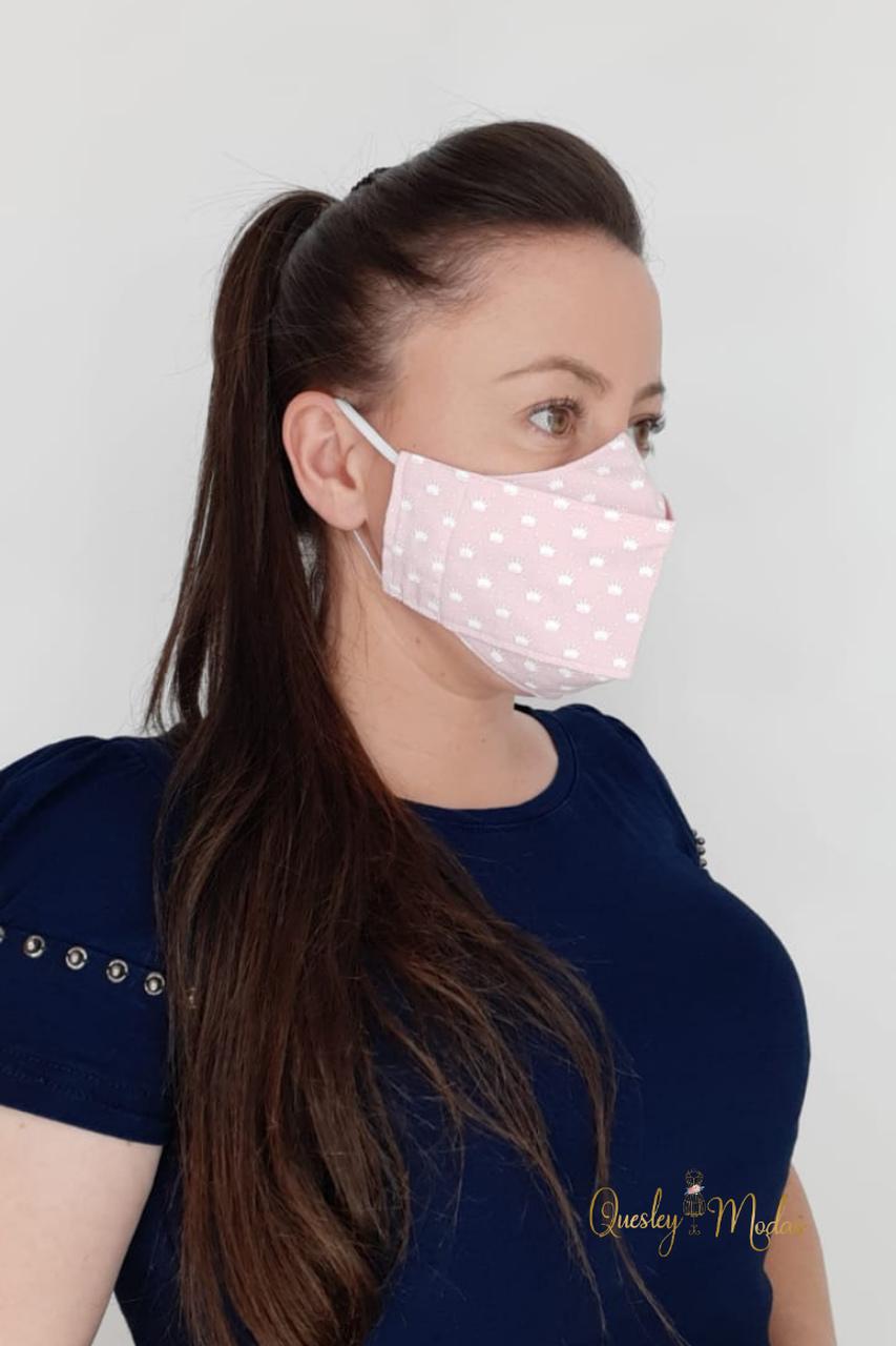 Máscara de proteção facial Quesley Modas