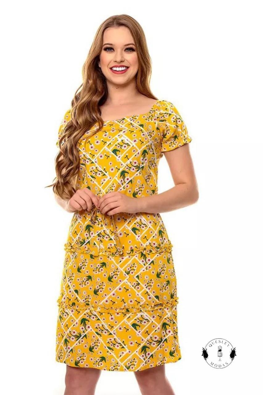 PRÉ-VENDA - Vestido feminino Isabel Hapuk