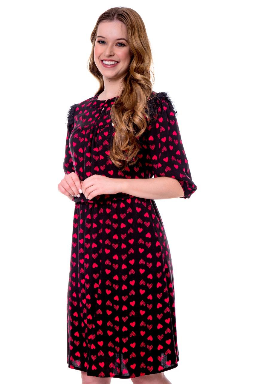 PRÉ-VENDA - Vestido feminino Valentina Hapuk