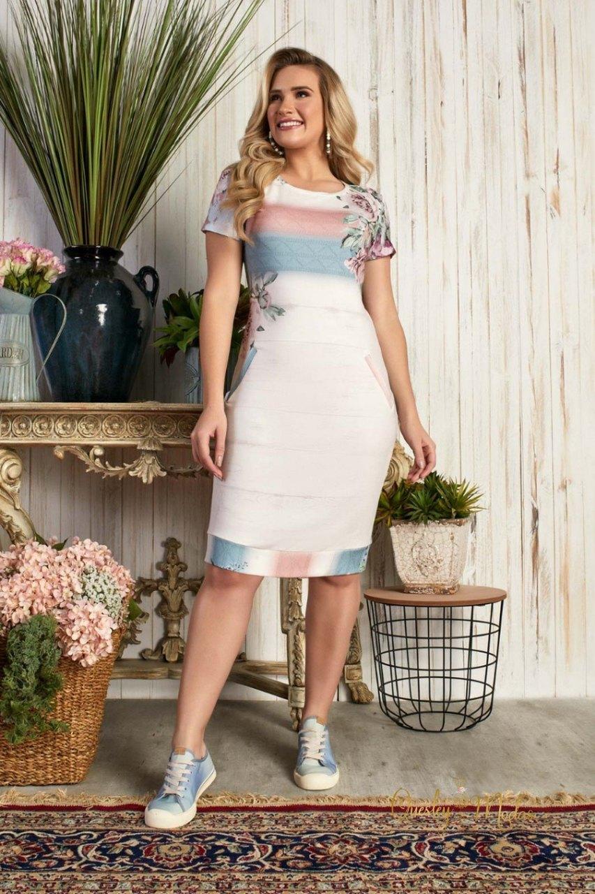 Vestido feminino comfy Nicole Fascíniu's