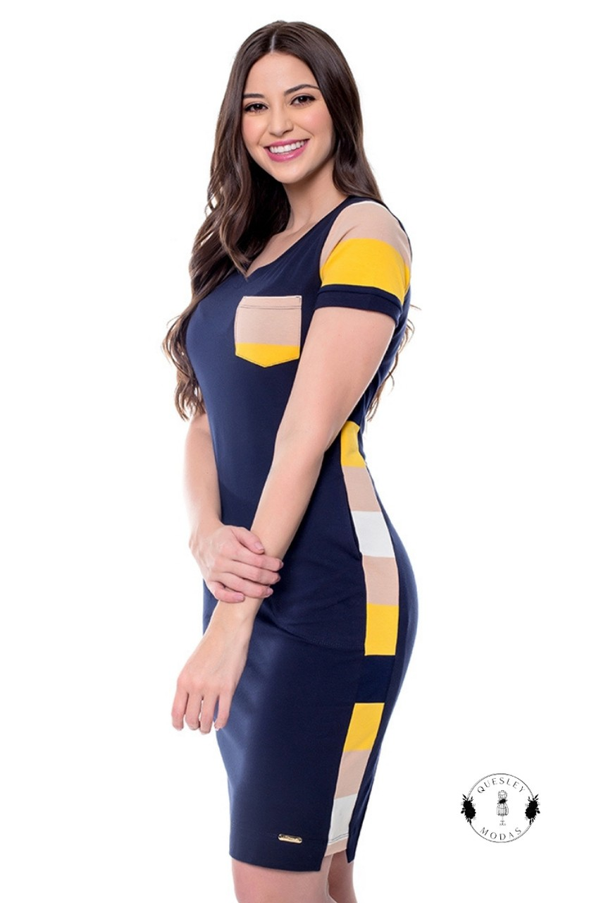 Vestido feminino Samanta Hapuk