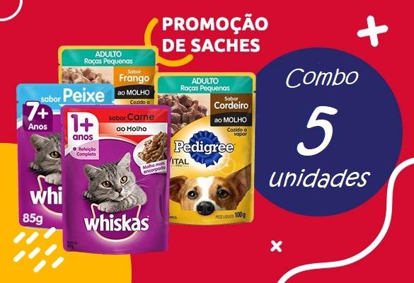 promoção de sache pedigree ou whiscas